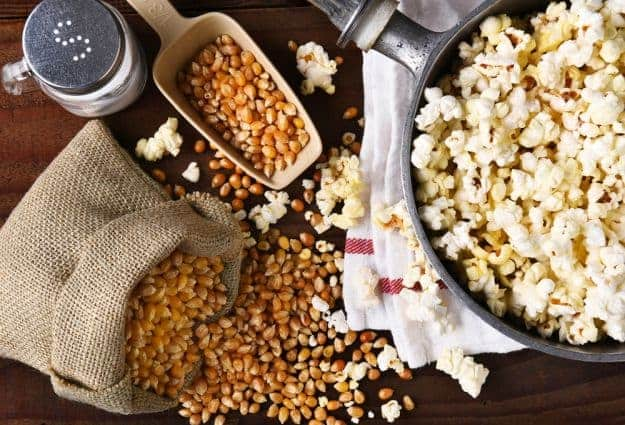 Simply Classic Campfire Popcorn | Camping Snacks Recipes