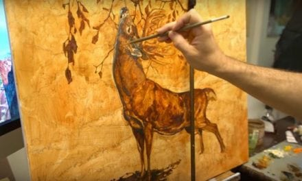 "Art of the Hunt: Painter Ryan Kirby Brings 217"" Danger Back to Life"