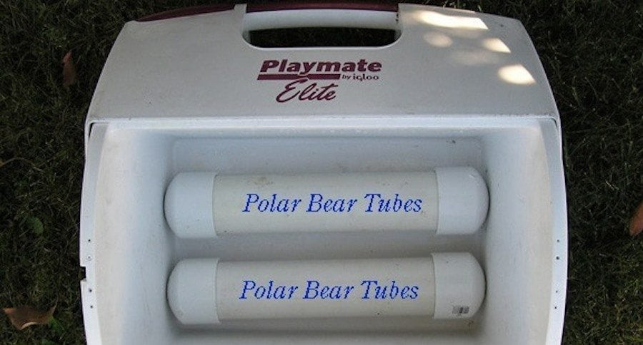 Ditch the Ice, Make These DIY Polar Bear Tubes for Your Cooler Instead