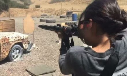 Fast & Furious Star Michelle Rodriguez is a Beast at the Gun Range [VIDEO]