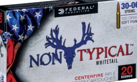 Federal Ammunition Launches 'Non-Typical' Line of Deer Hunting Ammo