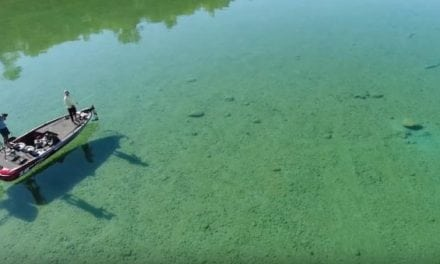 Have You Ever Fished for Bass in Water as Clear as This?