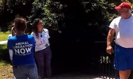 Just When You Think You've Seen it All: Animal Rights Protesters Harass Fishing Families