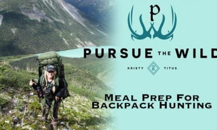 Learn How to Meal Prep for a Backpack Hunt