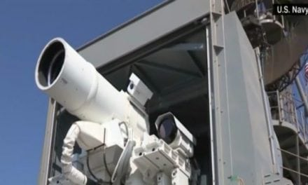 Mind Boggling: Navy Tests First-Ever Active Laser Weapon