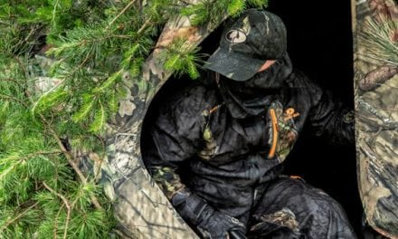 Mossy Oak Announces First Camo Pattern for Ground Blind Hunters