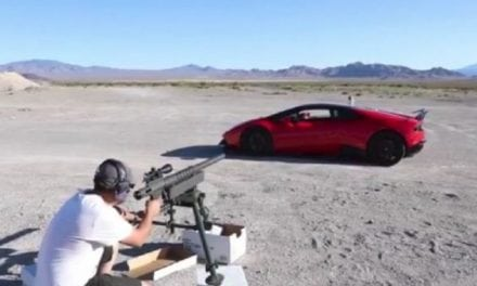 No Big Deal, Just Shooting a 20mm Through the Window of my Lambo