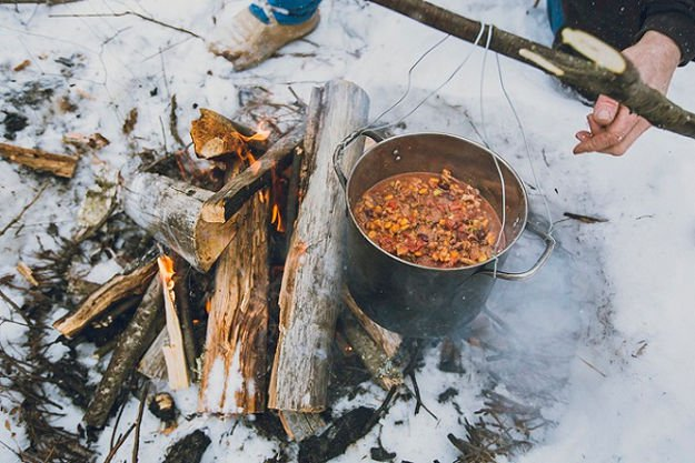 Stew | Practical (Yet Delicious) Winter Campfire Cooking Ideas For Outdoor Cooking