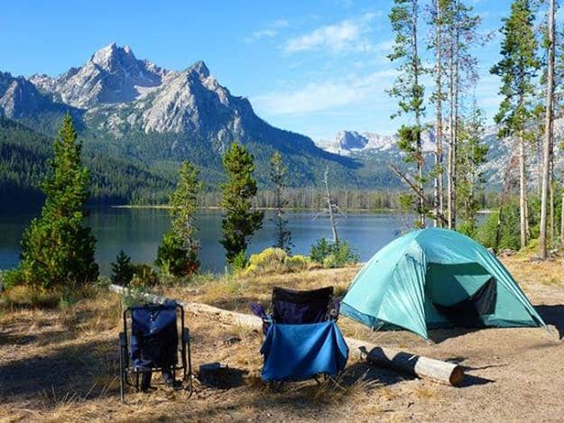 Camping in Idaho   Ultimate List of Campgrounds Around US   Survival Life Camping Spots List