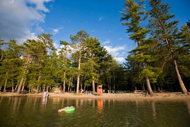 Camping in New Hampshire   Ultimate List of Campgrounds Around US   Survival Life Camping Spots List