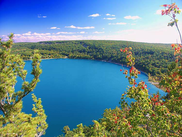 Camping in Wiscons in the fall   Best Campgrounds Across The U.S.