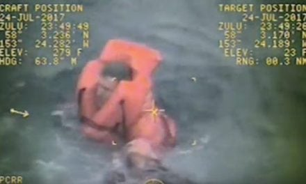 VIDEO: Fishing Boat Captain Saves Crewman's Life in Frigid Alaska Waters
