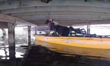 Want to Try Under-Dock Fishing From a Kayak? Here's a Helpful Video