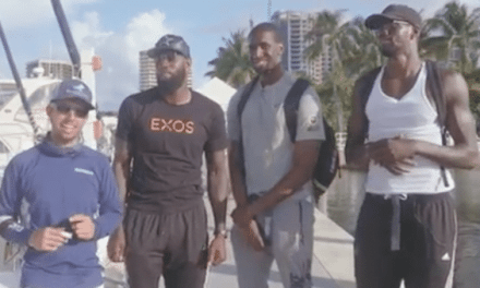 Would You Go Deep Sea Fishing with 3 Basketball Players?