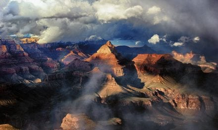 Behind The Shot: Clouds Part Over The Canyon