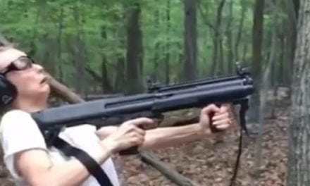 Does This Lady Share Your 12 Gauge Recoil Face?