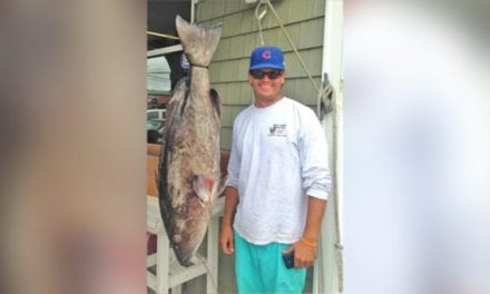 Fisherman Catches New Gag Grouper Record in North Carolina