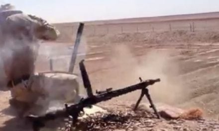 German Machine Gun Blows Up in Shooter's Face