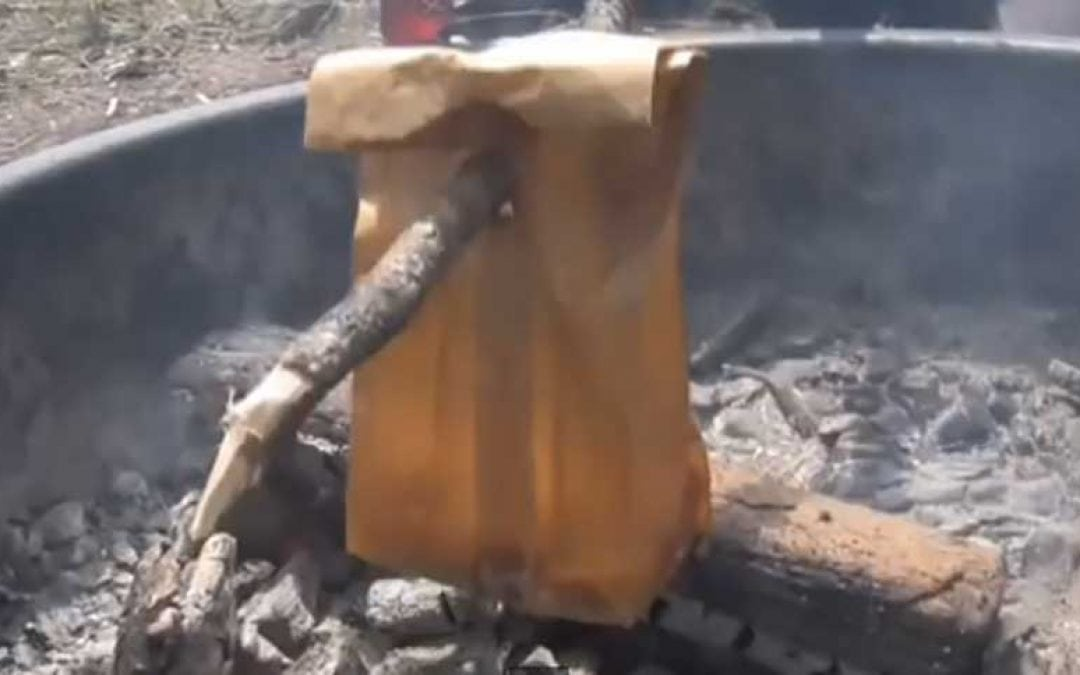 Here's How to Cook Bacon and Eggs in a Paper Bag