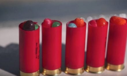 Here's What Happens When You Shoot Jelly Beans Out of a Shotgun Shell