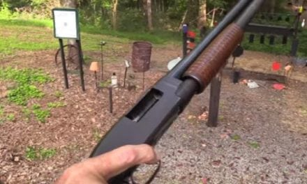Hickok45 Shoots the Classic Winchester Model 12 Shotgun