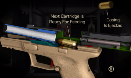 Impressive CGI Animation Shows Every Detail of How Semi-Auto Handgun Works