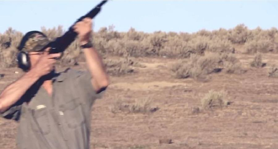 elephant gun knocks down professional shooter ron spomer