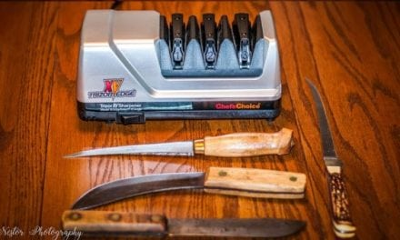 Knife Sharpening at its Finest: Chef's Choice Trizor XV Sharpener EdgeSelect Model 15