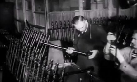 Lost Vintage Footage of WW2 German MG34 Machine Guns Being Built