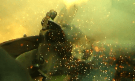 MUST SEE: Incredible 53-Second Slow-Motion Video of Flintlock Firing on an Armored Breastplate