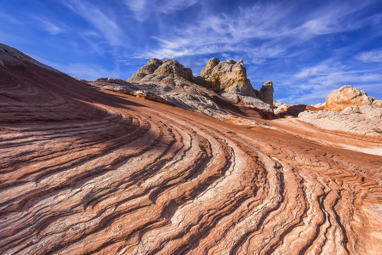 "Today's Photo Of The Day is ""White Pocket"" by Eunice Eunjin Oh. Location: Vermilion Cliffs National Monument, Arizona."
