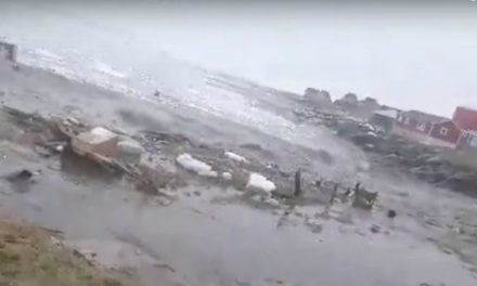 Rare Video: Mega-Tsunami Makes Landfall at Greenland Fishing Village
