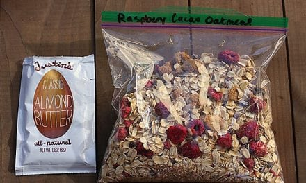 Raspberry Almond Cacao Oatmeal