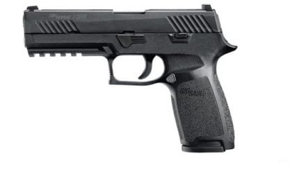 Sig Sauer Offers Free Voluntary Upgrade for P320!