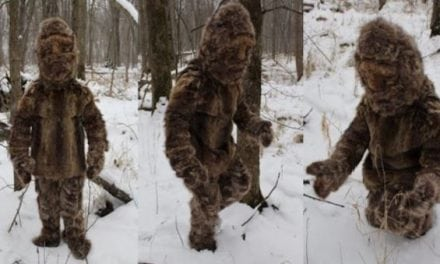 They Just Found Bigfoot, and He Was Wearing Raccoon Pelts