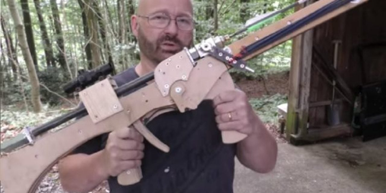 This DIY Air-Powered Arrow Blaster Will Stop Anything
