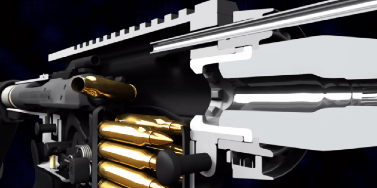 This Impressive AR-15 Animation Looks Inside the Rifle in a Whole New Way