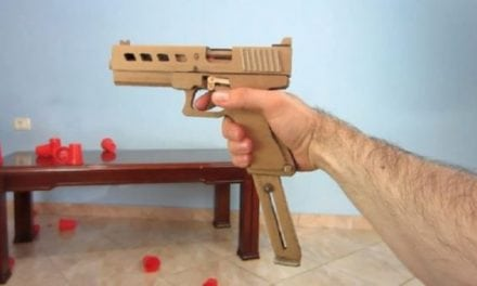 Video: Make Your Own Working Cardboard Glock 19