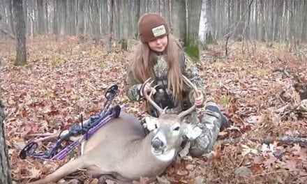 WATCH: This Bowhunting Little Girl Has Ice in Her Veins and a Nice Buck to Prove It