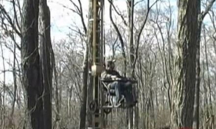When Elevator Meets Treestand: The Mechanized Treestand