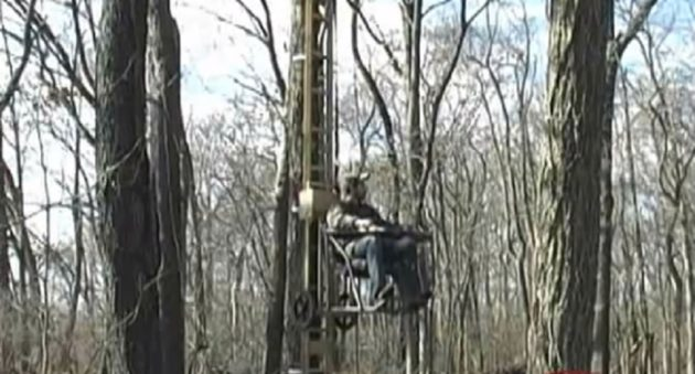When Elevator Meets Treestand The Mechanized Treestand