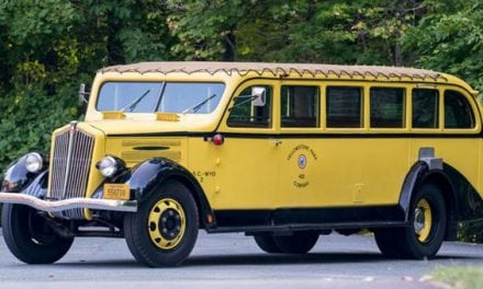 You Can Actually Bid on This 1937 Yellowstone Tour Bus