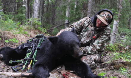 Eric Chesser's First Bear Hunt is a Roller Coaster of Emotions