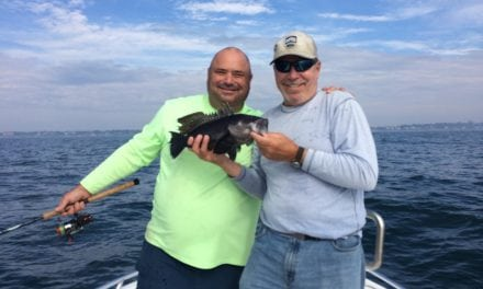 Even when fishing gets complicated Capt. Rene Letourneau finds the fish