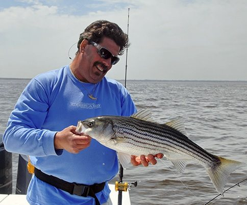 How To Catch The First Spring Stripers