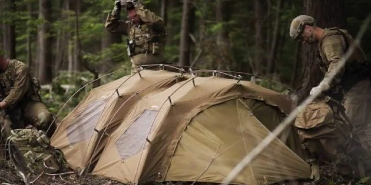NEMO Builds the Most Expensive Military Tent in the World