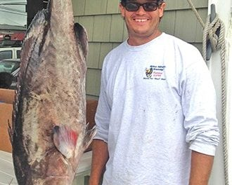 New N.C. State Record Gag Grouper