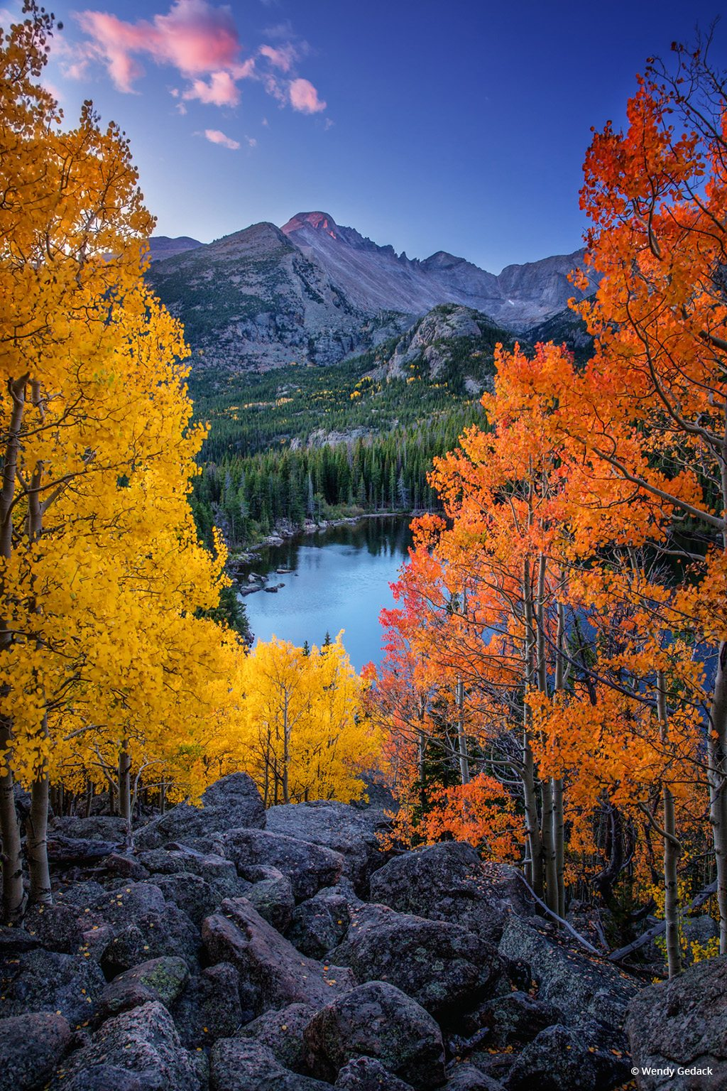 "Today's Photo Of The Day is ""Absorb Every Moment of Wonder"" by Wendy Gedack. Location: Rocky Mountain National Park, Colorado."