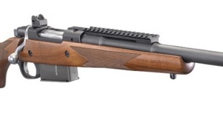Ruger Gunsite Scout Rifle in .450 Bushmaster