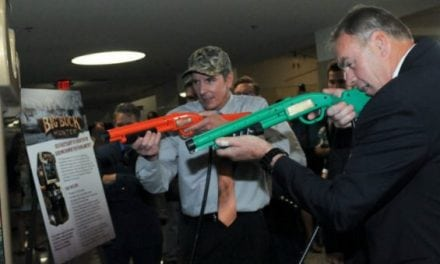 """Secretary Ryan Zinke Installed a """"Big Buck Hunter"""" Video Game at the Department of the Interior"""